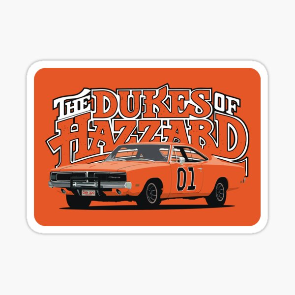 The Dukes of Hazzard / General Lee  Sticker