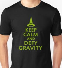 Defy Gravity. Wicked Witch. Unisex T-Shirt