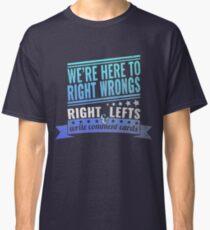Camiseta clásica Papel crítico: Vox Machina II (verde azulado / azul)