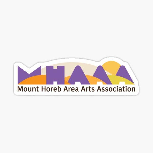 Official MHAAA logo Sticker