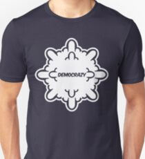democrazy 2010 - promotional shirt - v1.0 invert Unisex T-Shirt