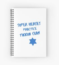 Superheroes Heal the World Spiral Notebook