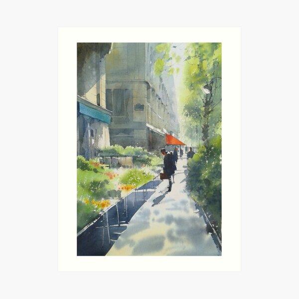 Morning in Paris Art Print