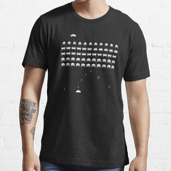 Space Invaders Vintage Retro Arcade Game Essential T-Shirt