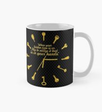 When golden time... Life Inspirational Quote Mug