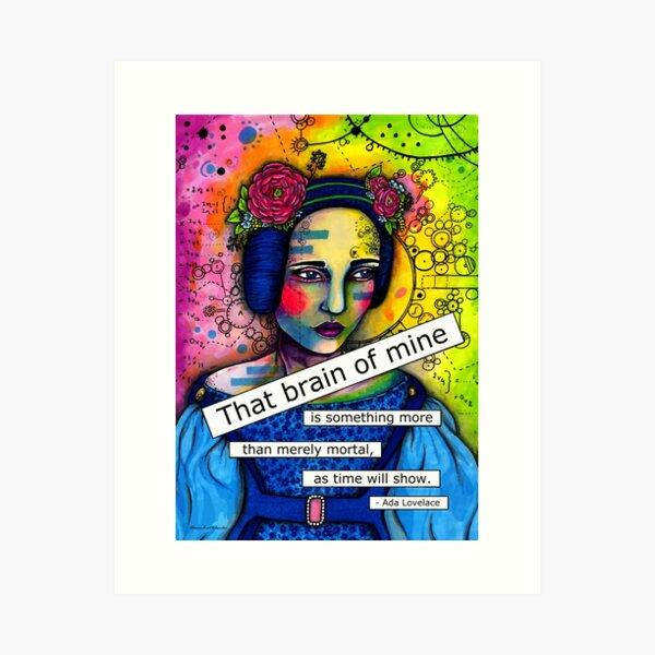 Ada Lovelace Art Print