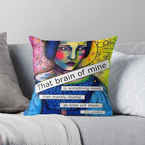 Ada Lovelace Throw Pillow