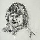 Smiling Little Girl by Barbara Pommerenke