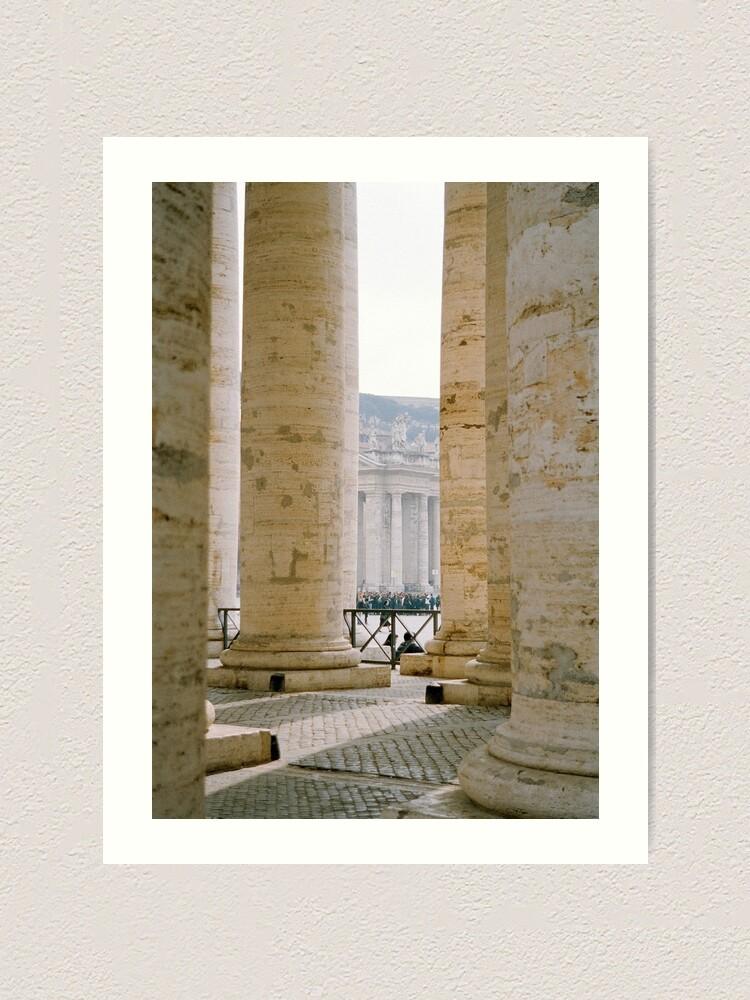 Alternate view of Colonnade, St Peter's Art Print