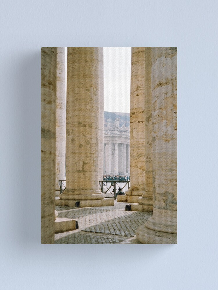 Alternate view of Colonnade, St Peter's Canvas Print