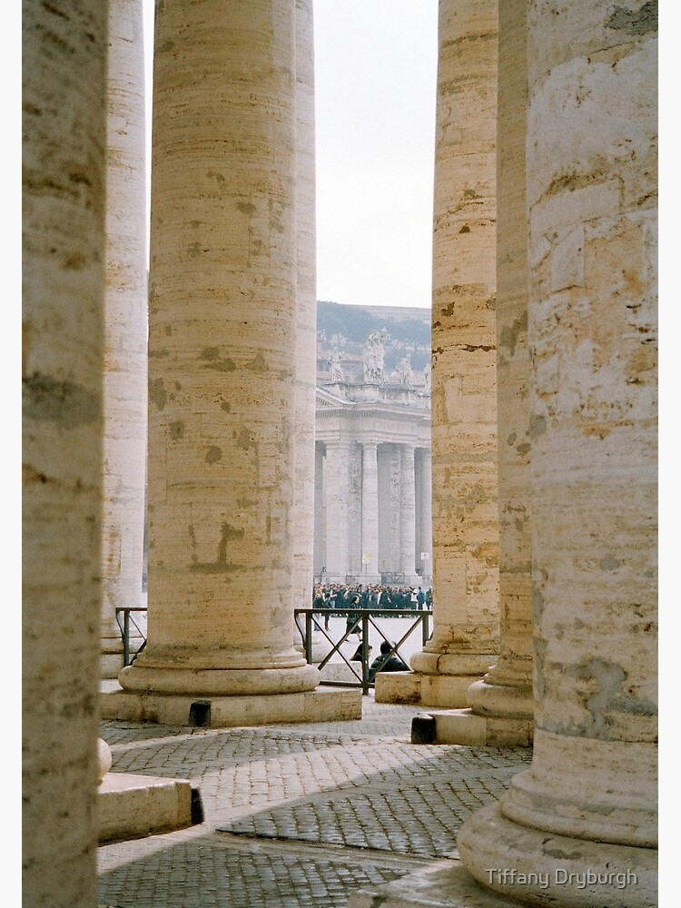 Colonnade, St Peter's by Tiffany
