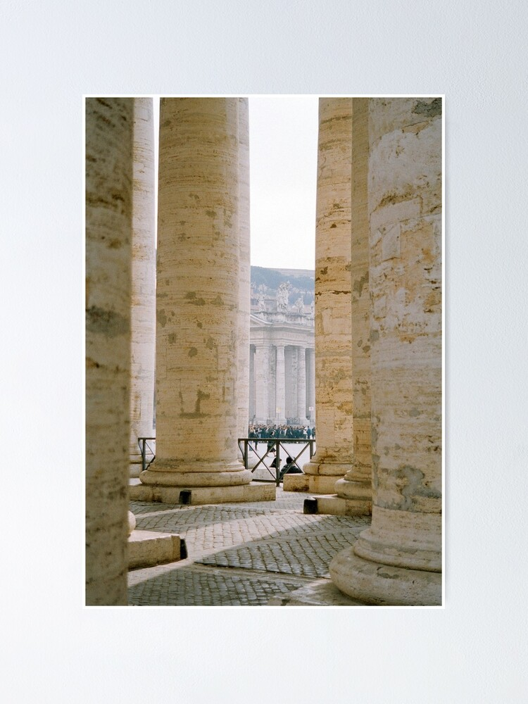 Alternate view of Colonnade, St Peter's Poster
