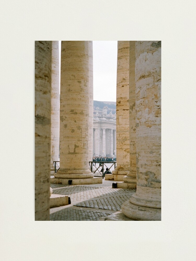 Alternate view of Colonnade, St Peter's Photographic Print