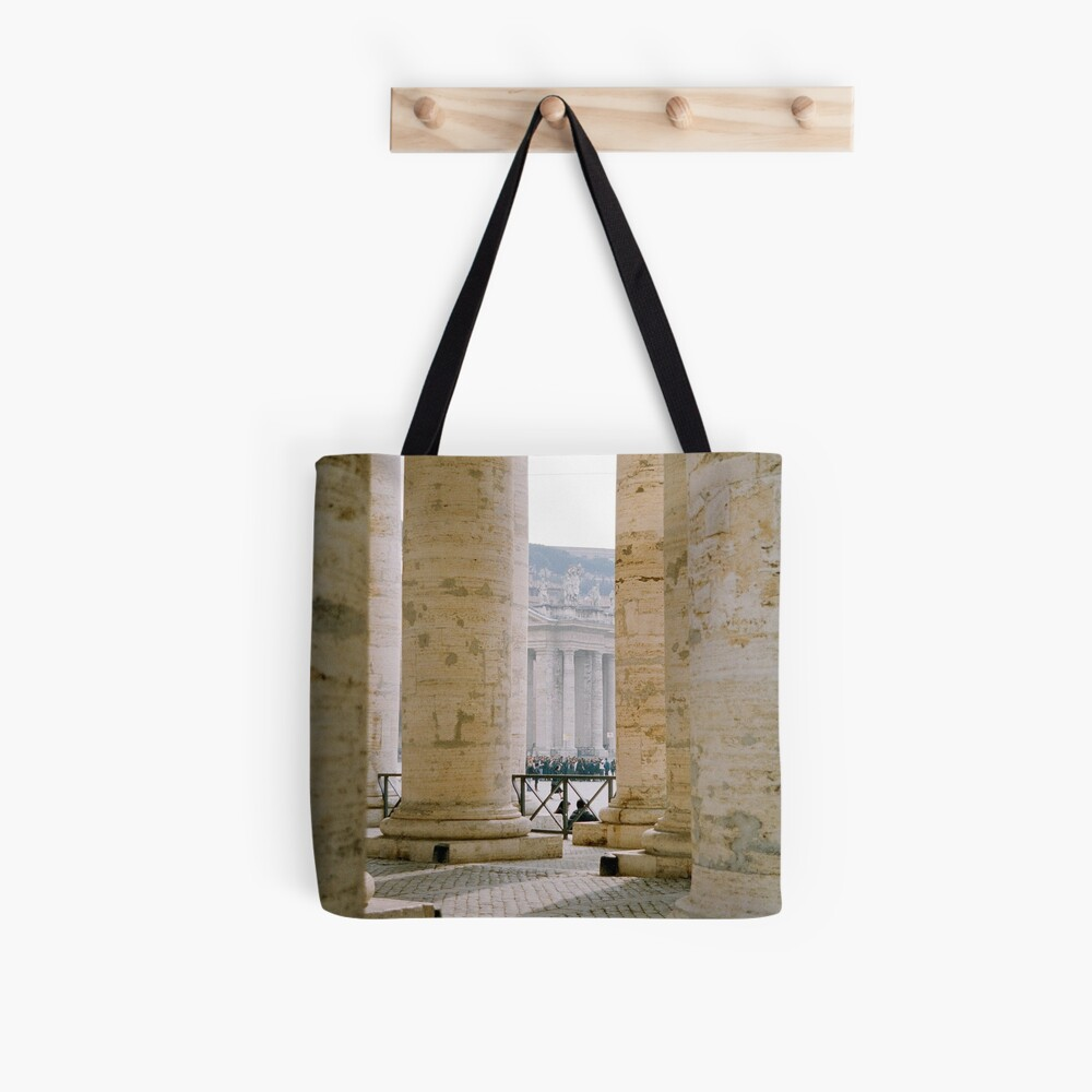 Colonnade, St Peter's Tote Bag