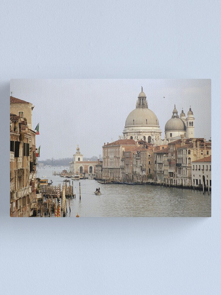 Alternate view of The Picture Postcard Venice Canvas Print