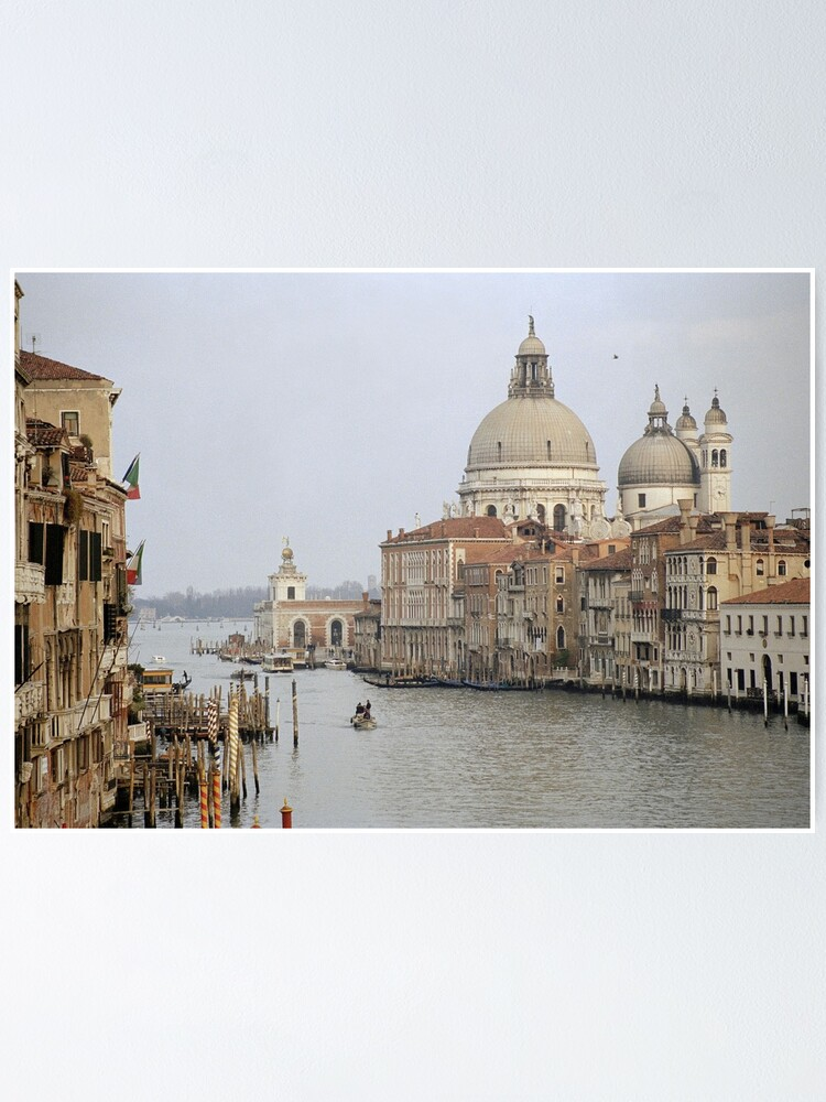 Alternate view of The Picture Postcard Venice Poster
