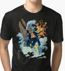 Two Avatars Tri-blend T-Shirt