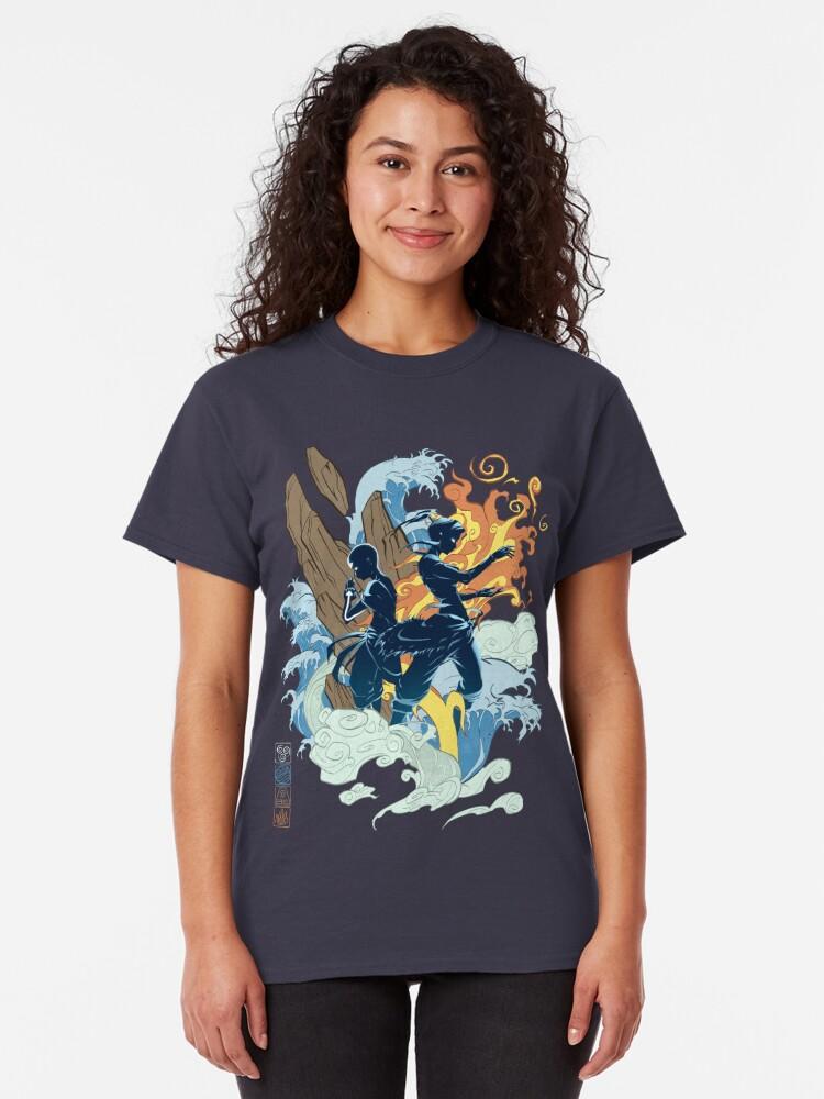 Alternate view of Two Avatars Classic T-Shirt