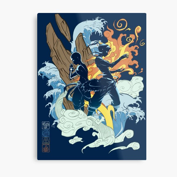Two Avatars Metal Print