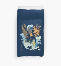 Two Avatars Duvet Cover