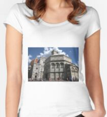 Florence Cathedral Women's Fitted Scoop T-Shirt