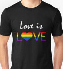 Love is LOVE (2) Unisex T-Shirt