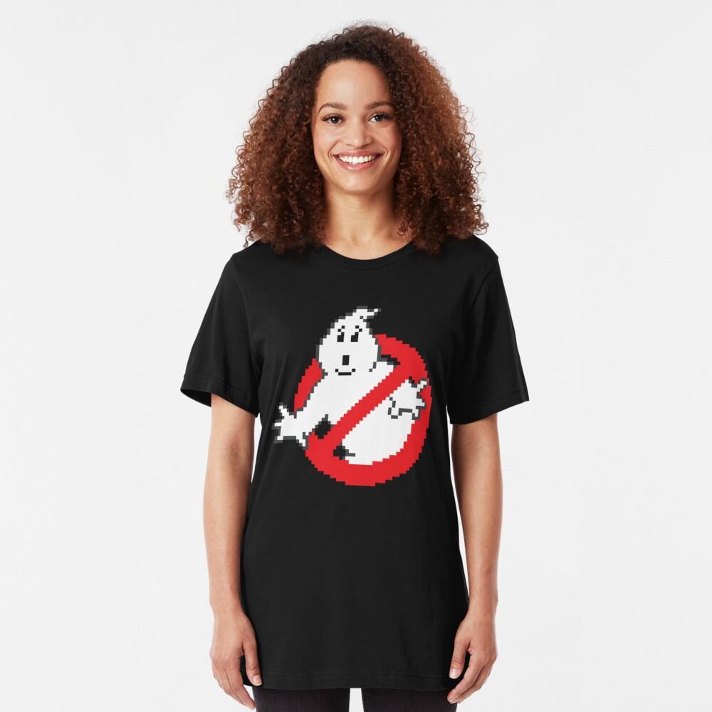 8-bit 'Busters Slim Fit T-Shirt