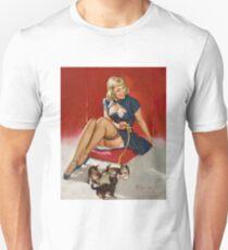 Gil Elvgren Appreciation T-Shirt no. 11. T-Shirt
