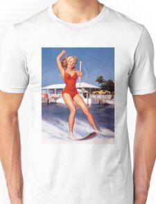 Gil Elvgren Appreciation T-Shirt no. 12. Unisex T-Shirt