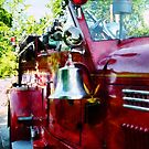 Bell On Fire Engine by Susan Savad
