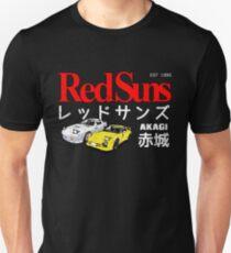 Initial D - Akagi RedSuns Unisex T-Shirt