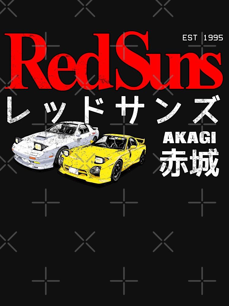 Initial D - Akagi RedSuns by xencn