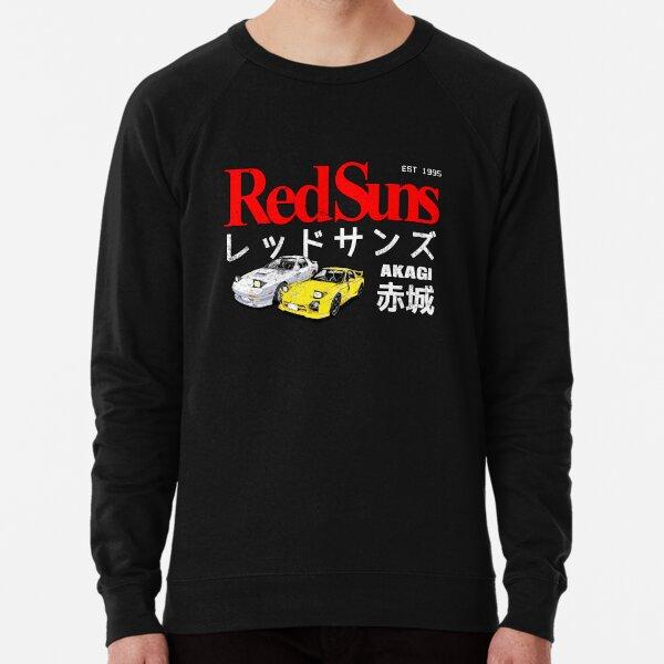 Initial D - Akagi RedSuns Lightweight Sweatshirt