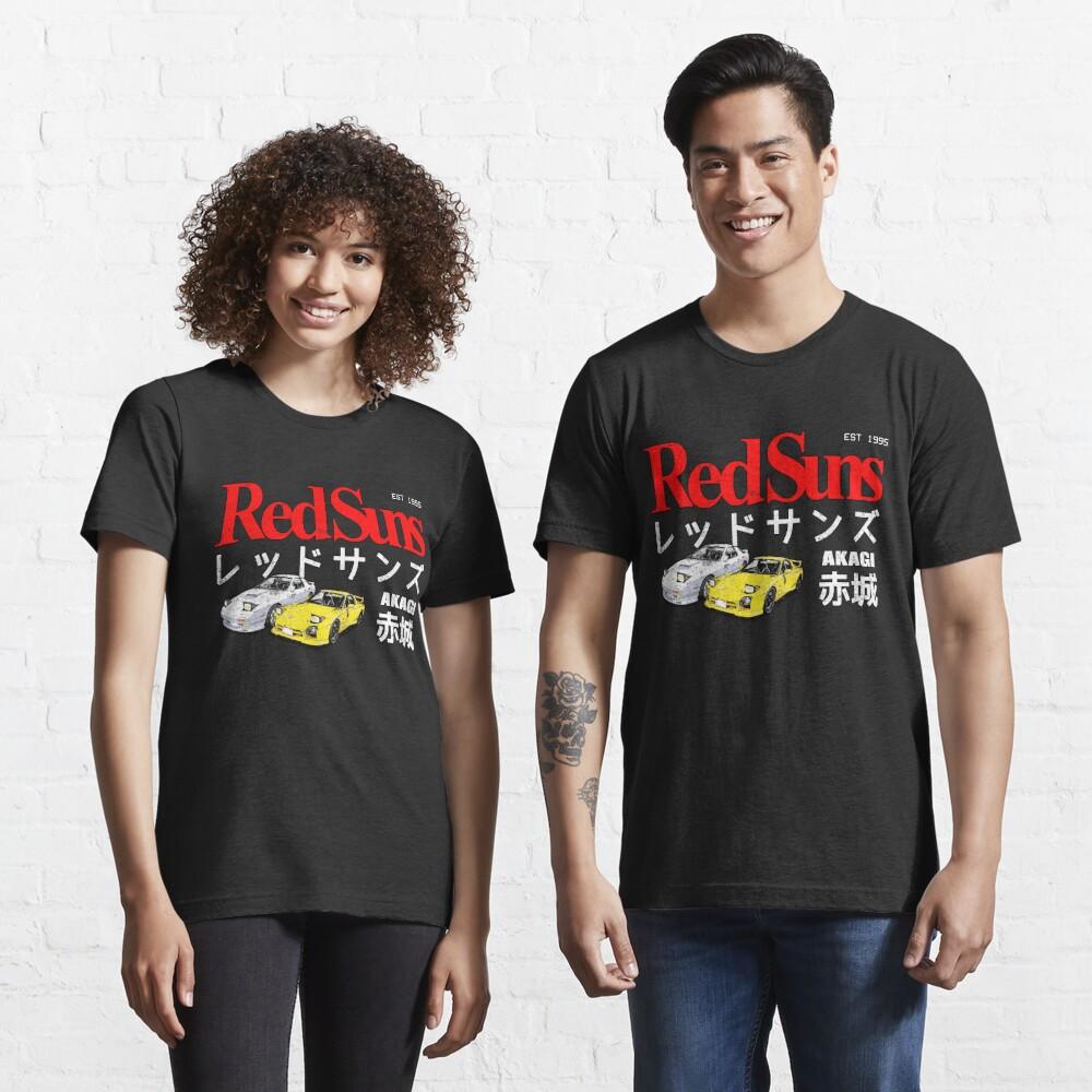 Initial D - Akagi RedSuns Essential T-Shirt