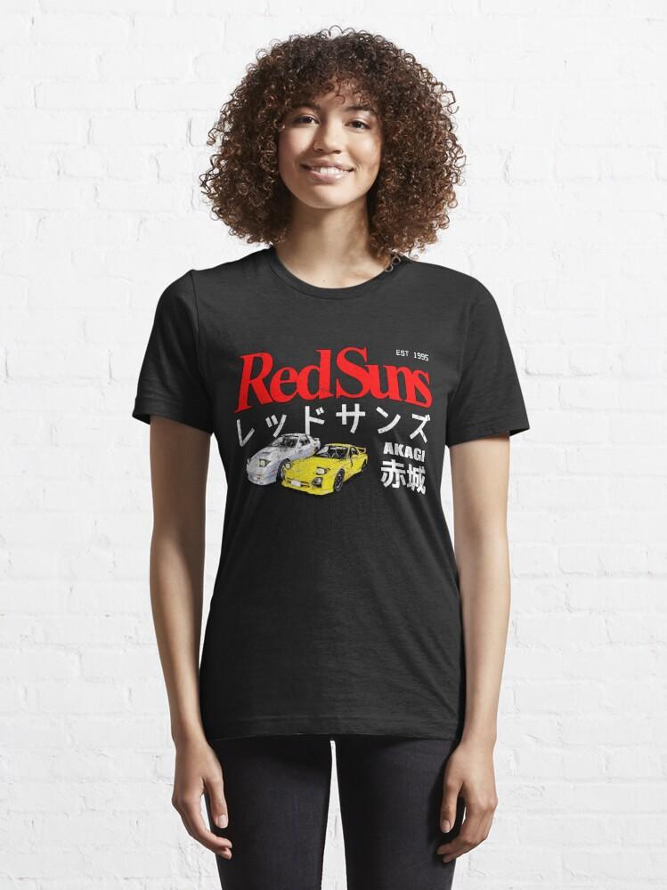 Alternate view of Initial D - Akagi RedSuns Essential T-Shirt