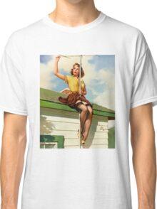 Gil Elvgren Appreciation T-Shirt no. 16. Classic T-Shirt