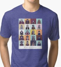 Coenville (w/ black lettering) Tri-blend T-Shirt