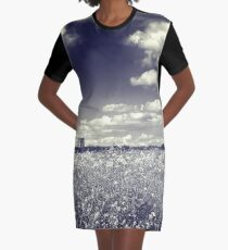 Following Dreams Graphic T-Shirt Dress