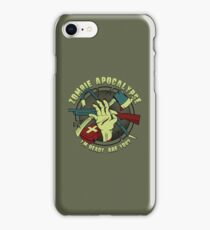 Zombie Apocalypse - I'm ready. Are you? iPhone Case/Skin