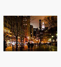 Union Night Photographic Print