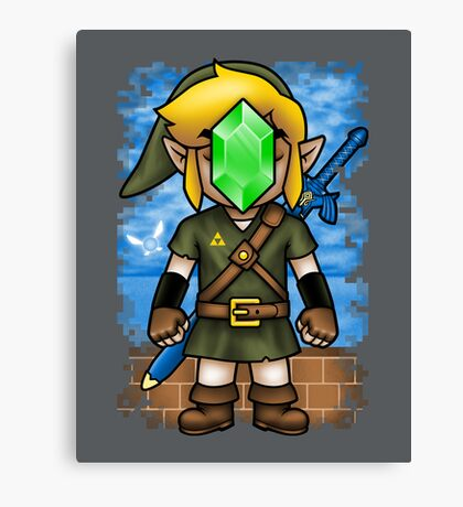 Son of Hyrule Canvas Print
