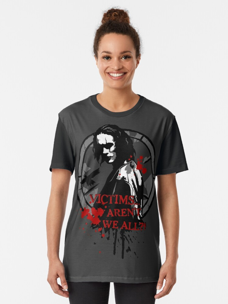 """The Crow /""""Victims/"""" Women/'s T-Shirt Tank or V-neck *High Quality* All Sizes"""