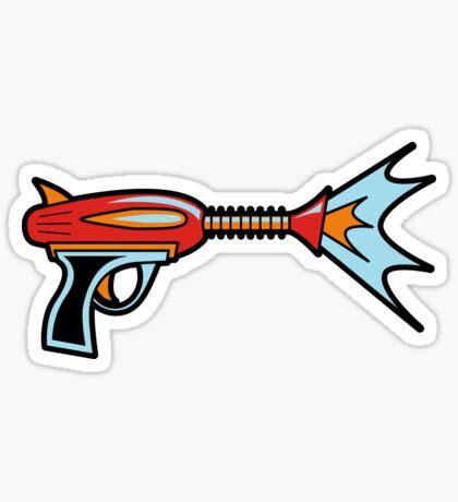 My First Raygun Sticker