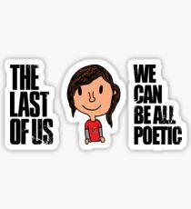 Ellie (Design 1 of 2) - The Last of Us Sticker