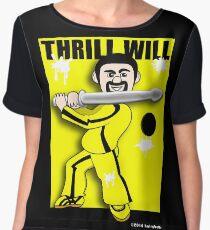 Thrill Will Women's Chiffon Top