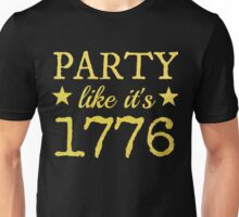 Musical T-shirt - Party Like It's 1776 Unisex T-Shirt