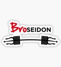 Broseidon Sticker