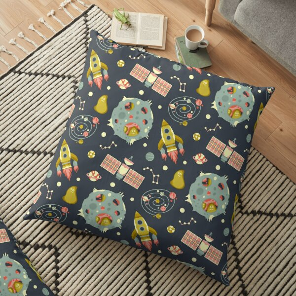 The End of the Universe Floor Pillow