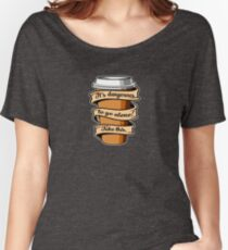 Take Coffee Women's Relaxed Fit T-Shirt