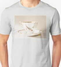 White Vintage Teacup | Still Life | Photography  Unisex T-Shirt